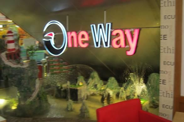 Gà rán nhà hàng one way