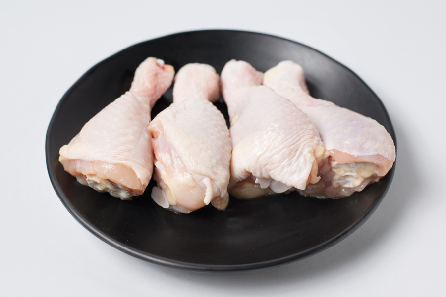 Thịt gà chưa tẩm ướp