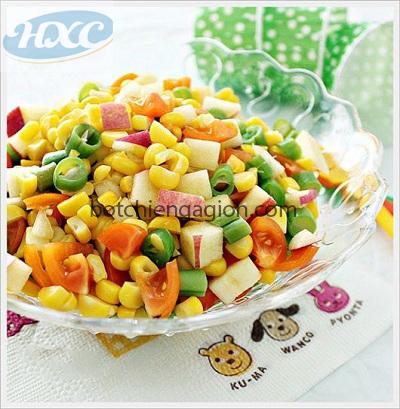 Cách làm salad Ngô